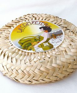 Higos secos prensados en serete de palma, 1 kg