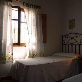 casa rural competa- dormitorio dos