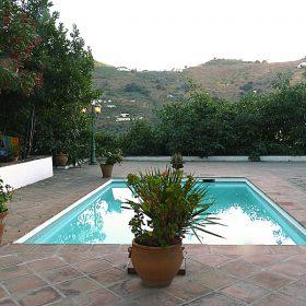 casa rural el rosario- piscina