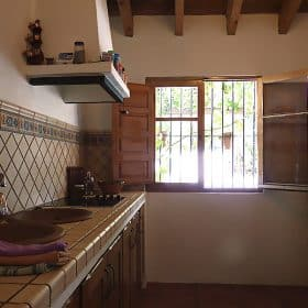 alojamiento rural malaga- cocina