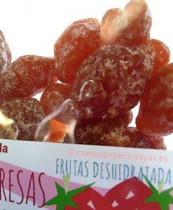 Fresas deshidratadas de Campo de Benamayor
