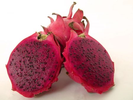 Fruta que produce la pitahaya hybridum