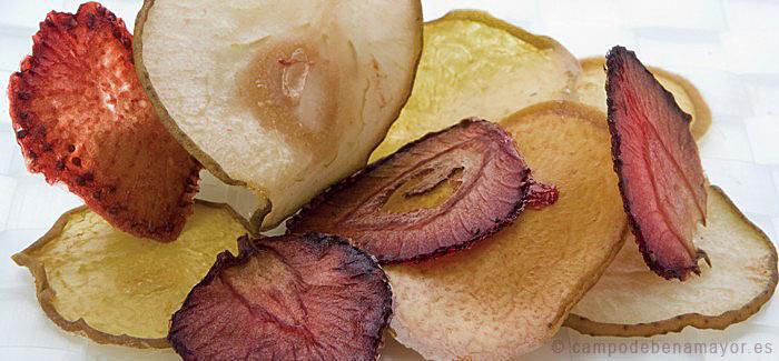 Fruta deshidratada sin azúcar, la opción más natural