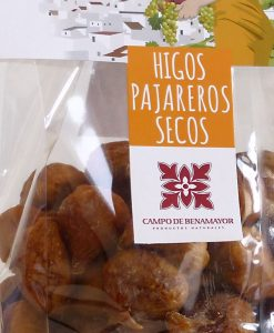 Bolsas de higos secos al natural