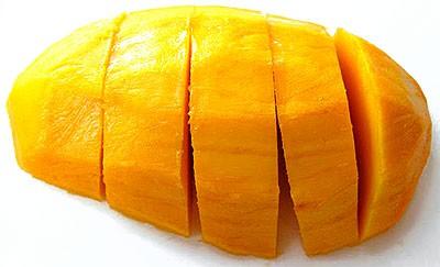 Mango cortado