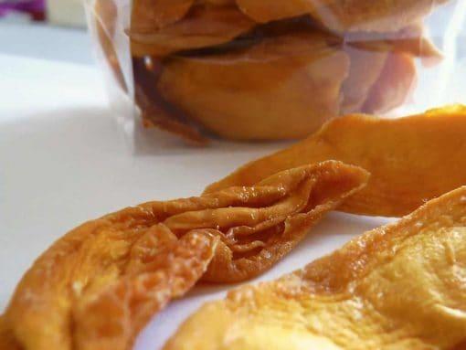 Mango seco sin azúcar, 100% natural