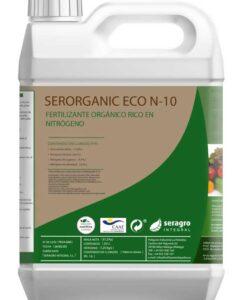 Abono nitrogenado líquido Seroganic ECO N-10, ecológico