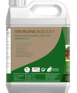Fertilizante NPK líquido Serorganic ECO 2-2-7