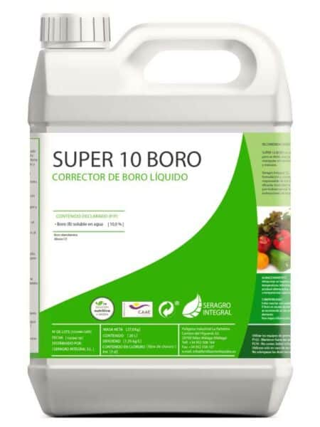 Corrector de boro, líquido Super 10 B