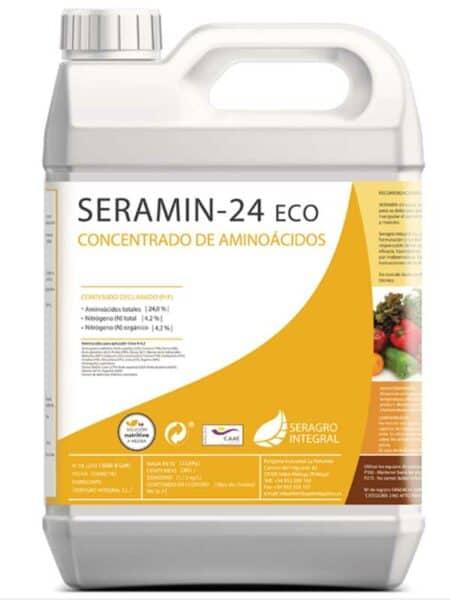 Seramin 24 ECO - Aminoácidos agrícolas, abono foliar
