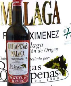 Vino Málaga Dulce de Bodegas Quitapenas- D.O. Málaga