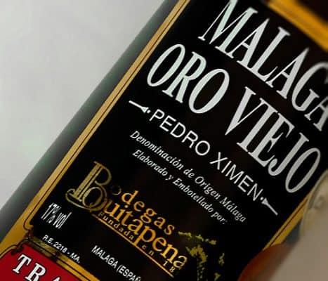 Vino Málaga Oro Viejo- Bodegas Quitapenas