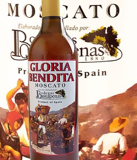 Vino Moscatel Gloria Bendita- D.O. Málaga