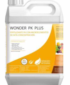 Fertilizante rico en fósforo y potasio Wonder PK Plus