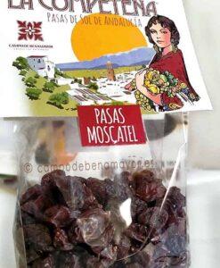 Bolsa con 400 g de pasas Moscatel de Málaga
