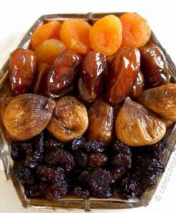 Cesta de frutas secas Manilva