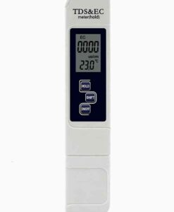 Medidor de conductividad eléctrica