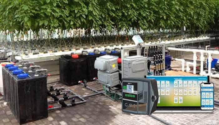 Dispositivos configurables para riego agrícola